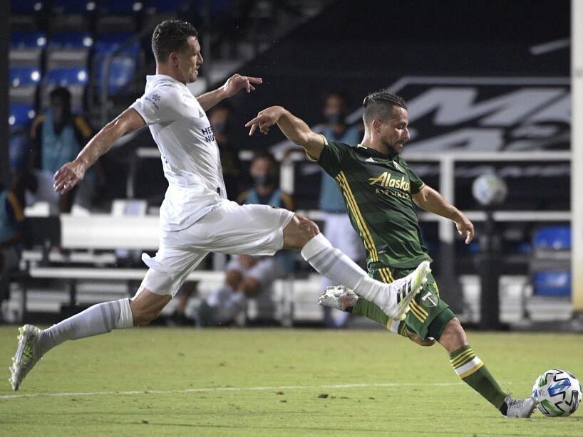 MLS Timbers Galaxy Soccer