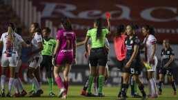 Dictan suspensiones a jugadoras rijosas
