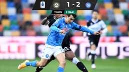 Chucky, titular y clave en triunfo de Napoli ante Udinese