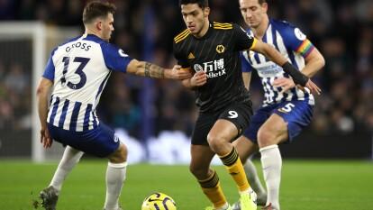 Wolverhampton logra empatarle al Brighton and Hove Albion, quienes remontaron en menos de un minuto. Raul Jimenez dio una espectacular asistencia y tuvo presencia 85 minutos del partido. Wolves se colocan en el sexto lugar de la tabla.