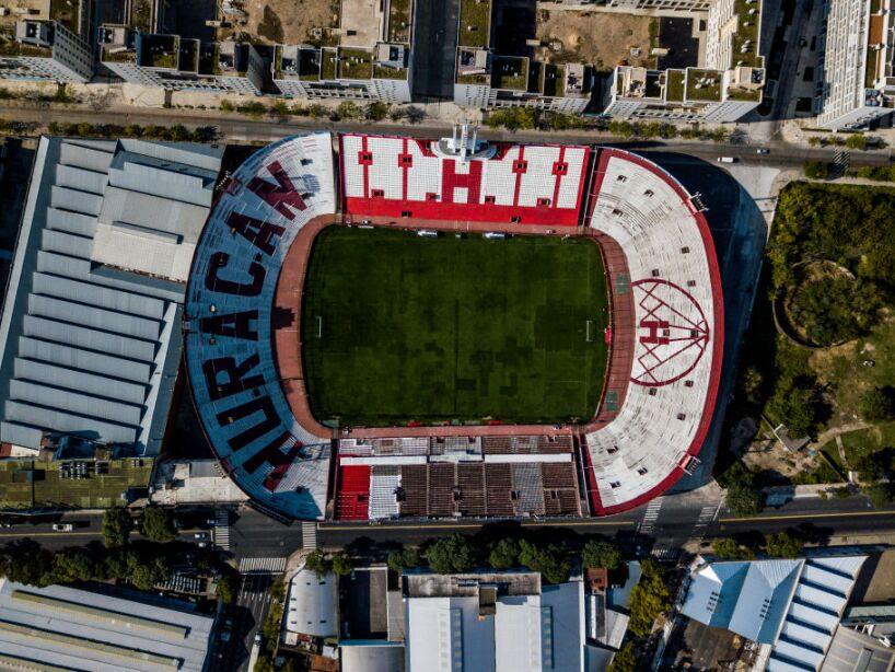 Empty Soccer Stadiums of Buenos Aires During Coronavirus Pandemic