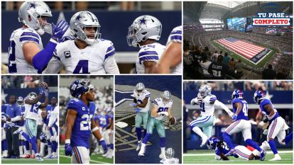 Dallas Cowboys brinda una gran exhibición en casa y supera con relativa facilidad a unos Giants que vuelven a perder en un inicio de temporada regular en la NFL.
