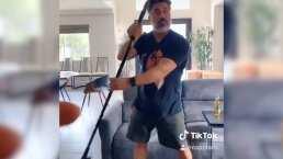 Al estilo de Daddy Yankee, así es como se debe de hacer la limpieza en casa