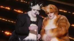 Revive el cómico momento en el que dos actores se burlaron de 'Cats' en la entrega de los Oscar 2020