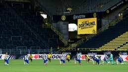 ¡No al racismo! Dortmund y Hertha protestan en la Bundesliga
