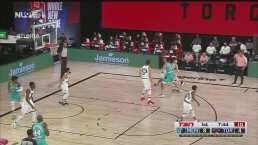 Mucha adrenalina poca efectividad en el inicio del Raptors vs Memphis