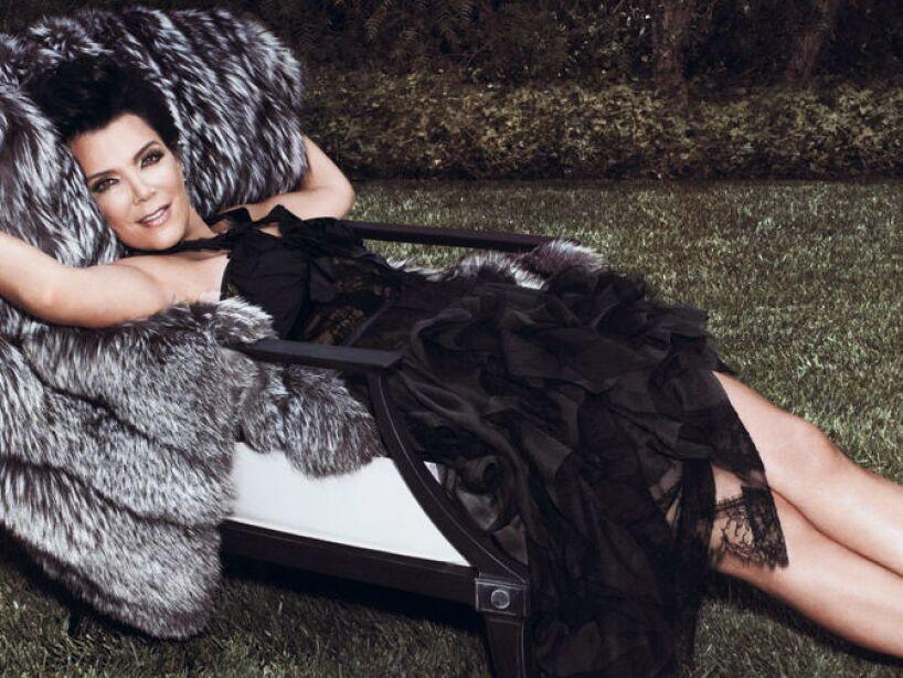 10. Kris Jenner: La líder del clan Kardashians es vista como una madre explotadora y oportunista.