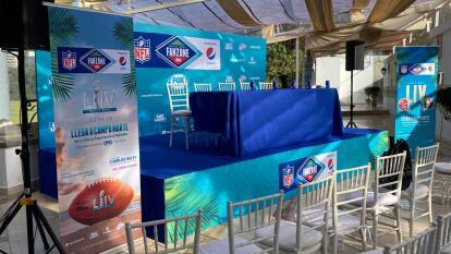La Fan Zone de la NFL tendrá lugar en el Campo Marte de la Ciudad de México el 2 de febero, día del Super Bowl.