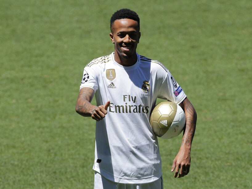 Spain Soccer Real Madrid Militao