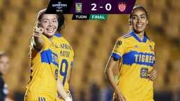 ¡Sin meter el acelerador! Tigres Femenil supera 2-0 a Necaxa