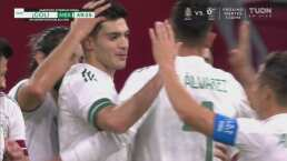 ¡Qué forma de ejecutar! Raúl Jiménez pone el 0-1 del Tri de penalti