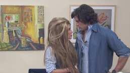 """Danilo Carrera recrea tórrida escena junto a Andrea Escalona en Hoy: """"Me dejaste encendido"""""""