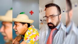 Ariel Miramontes le checa la próstata al Costeño