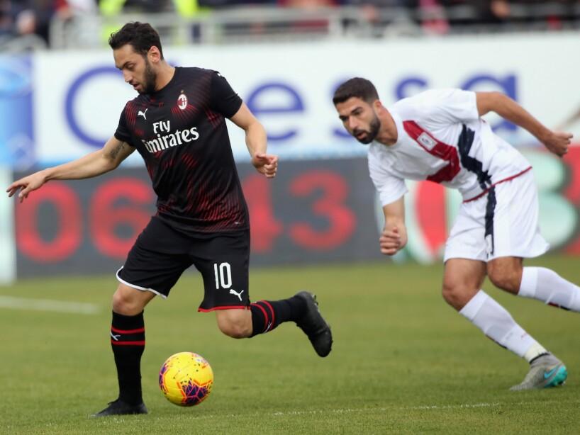 En duelo de la Serie A, el sueco marcó el segundo tanto de la victoria del Milan. Leao (46') abrió el marcador. Ibrahimovic (64') marcó el definitivo 2-0 en su regreso al futbol italiano.