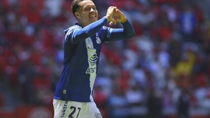 Alan Acosta se está consolidando con el equipo del Puebla.