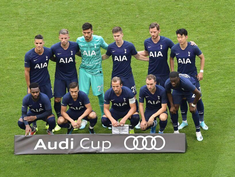 Tottenham vence por la mínima al Real Madrid en la Copa Audi