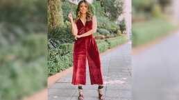 Galilea Montijo demuestra que el 'jumpsuits' es la prenda perfecta para chicas con curvas