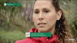 La historia de Samantha Terán en el mundo del squash