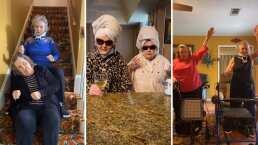 Abuelitas de 83 y 90 años hacen divertidos challenge de TikToks