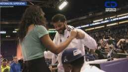 Recuerdo del Super Bowl XLIX: Cuando Gina hizo bailar a Russell Wilson