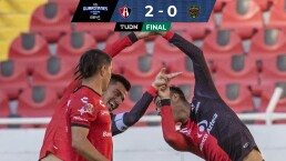 ¡Prolongan la buena racha! Atlas domina y doblega 2-0 a FC Juárez