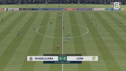 Fernando Beltrán logra frenar la racha ganadora de Nicolás Sosa y consigue el empate ante su poderoso León.