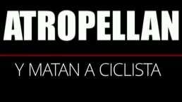 Carreritas mortales: Ciclista muere atropellado y deja huérfano a su hijo por culpa de arrancones clandestinos