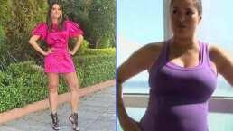Galilea Montijo presenta al médico que logró ayudarla a bajar de peso después del embarazo