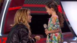 Ella es Marian Lorette de León, la niña que con su tierna voz se robó el corazón de Lucero