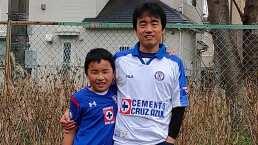 En Yokohama vive el fan número uno de Cruz Azul y es japonés