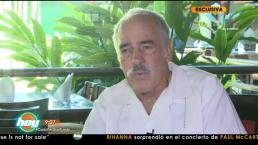 Andrés García revela si tiene problemas económicos