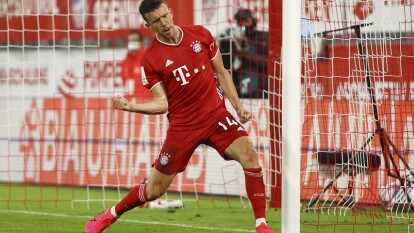 Con goles de Perisic y Robert Lewandowski, el Bayern München irá a Berlin para enfrentar al Leverkusen en la final de la Pokal.