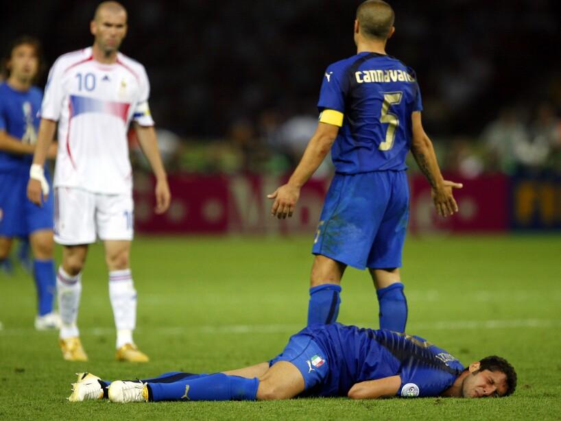 Zinedine Zidane, Marco Materazzi, Fabio Cannavaro