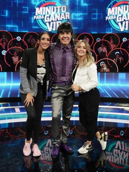 Andrea Legarreta y Cynthia Urías fueron las invitadas especiales de Minuto para Ganar VIP, programa en el que se divirtieron al lado de 'El Vítor'. A continuación, te presentamos sus mejores momentos en imágenes.