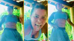 ¡Es viernes y Alejandra Guzmán lo sabe!: La 'Reina de corazones' menea sus caderas al ritmo de reggaetón