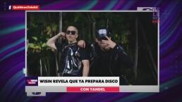 Wisin prepara nuevo disco con Yandel