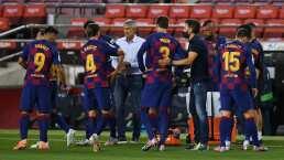 Setién confía que el golpe de Koulibaly no le quite a Messi