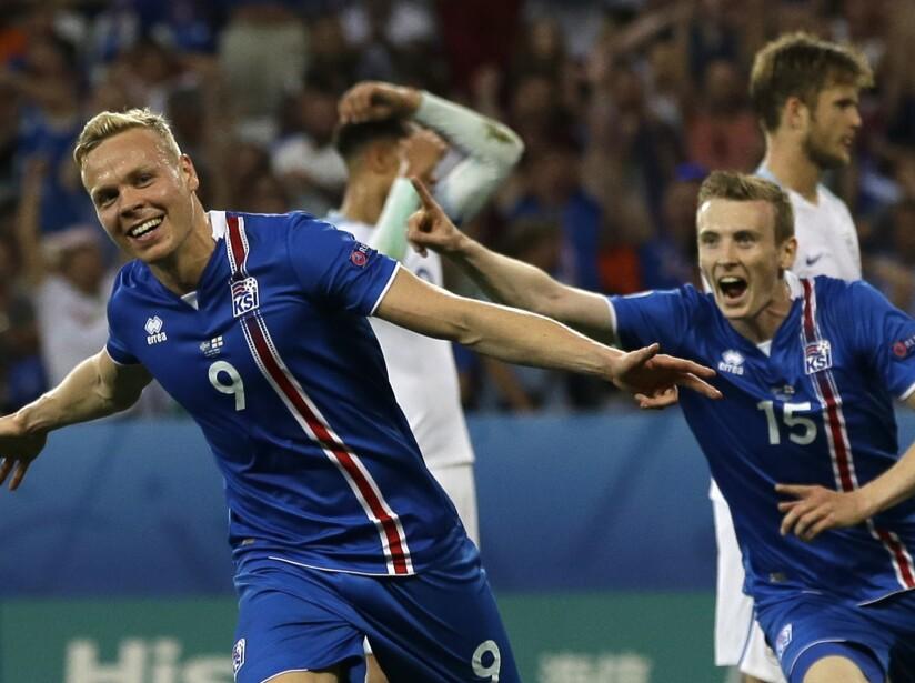 APTOPIX Soccer Euro 2016 England Iceland