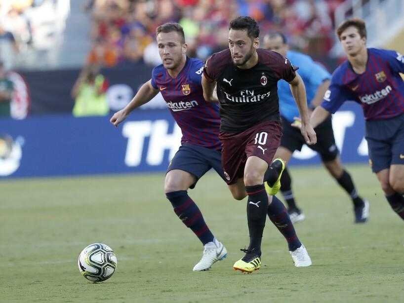 FC Barcelona AC Milan Soccer