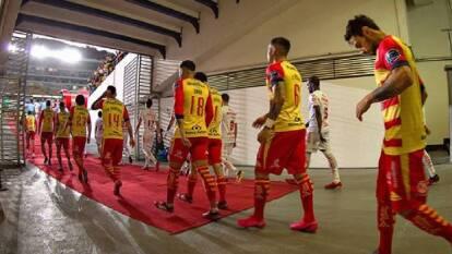 El Estadio Morelos fue el escenario perfecto para que la hinchada viviera momentos mágicos.   El túnel del Estadio Morelos, el sendero que inspiraba al equipo.Monarcas Morelia.