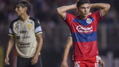Las renovadas Chivas cayeron ante los Dorados en tanda de penales tras empatar el encuentro por marcador global de dos goles. El gol del encuentro de vuelta lo anotó Calderón al 24'. En la tanda de penales, el verdugo fue Ponce al no poder anotar para Guadalajara.