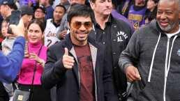 Manny Pacquiao quiere comprar un equipo de la NBA