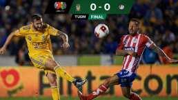 Tigres no pudo con San Luis y empataron a cero goles