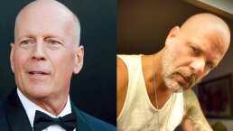 Doble de Bruce Willis se hace pasar por él en Tik Tok y engaña a medio Internet