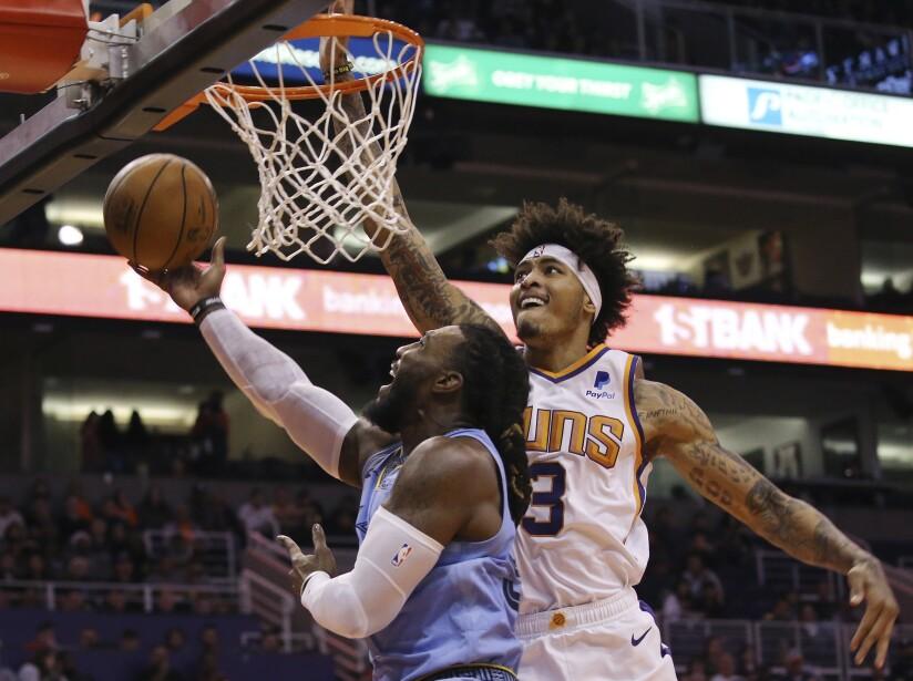 Phoenix Suns 108-115 Memphis Grizzlies