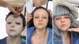 Video: Violeta Isfel se convierte en anciana y comparte el proceso de su transformación