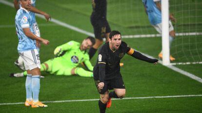 Barcelona golea al Celta de Néstor Araujo | El mexicano tuvo minutos de actividad en la derrota 3-0 ante los blaugranas.
