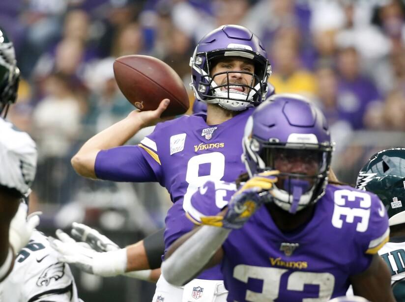 Eagles Vikings Football