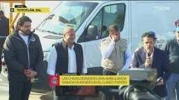 Atlas entrega ambulancia tras perder contra Chivas