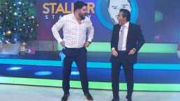Paul Stanley cumple reto y baila 'El gallinazo' junto a Raúl Araiza